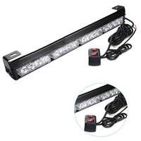 12 볼트 16 LED 높은 전원 스트로브 빛 소방
