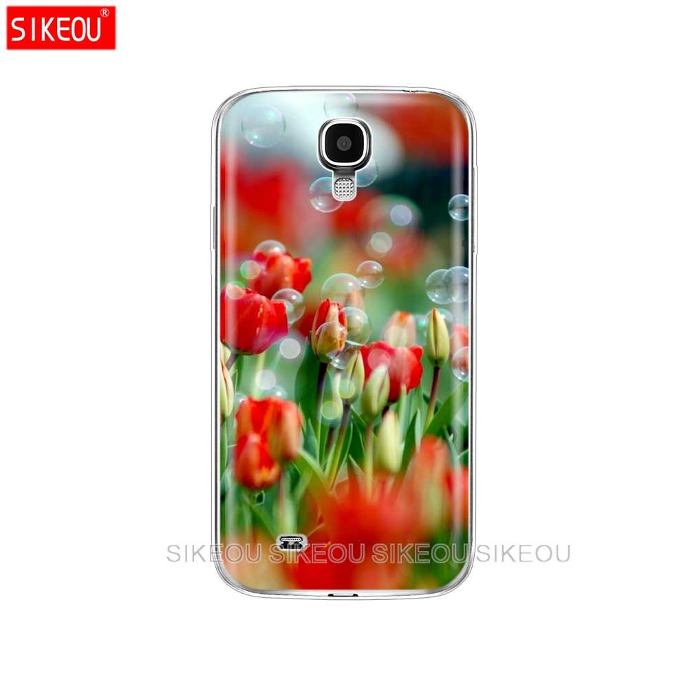 Futerał silikonowy do Samsung Galaxy S4 i9500 etui z tpu do Samsung S4 obudowa na telefon Funda Hoesje obudowa ochronna