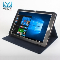 YUNAI Folding Stand PU Leather Case Cover Shell Protective Skin Tablet Protector For Chuwi Hi12 New