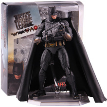 Justice League Batman Action Figure MEDICOM TOY MAFEX No.056 PVC Collectible Model Toy цены онлайн