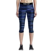 Sports Pants Female font b Fitness b font Yoga Capri Pants slimming Women Gym Leggings Elastic