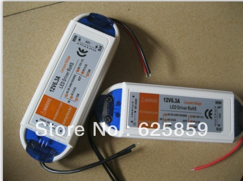 DC12V 6.3A Led Light Transformer Drive Strip Constant Voltage Power Supply Adapter 72W - shen zhen yong xing optoelectronics co.,ltd store