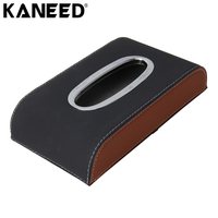 KANEED Tissue Case Car Universal Home Office Hotel Car Tissue Box Case Holder Tissue Box Paper
