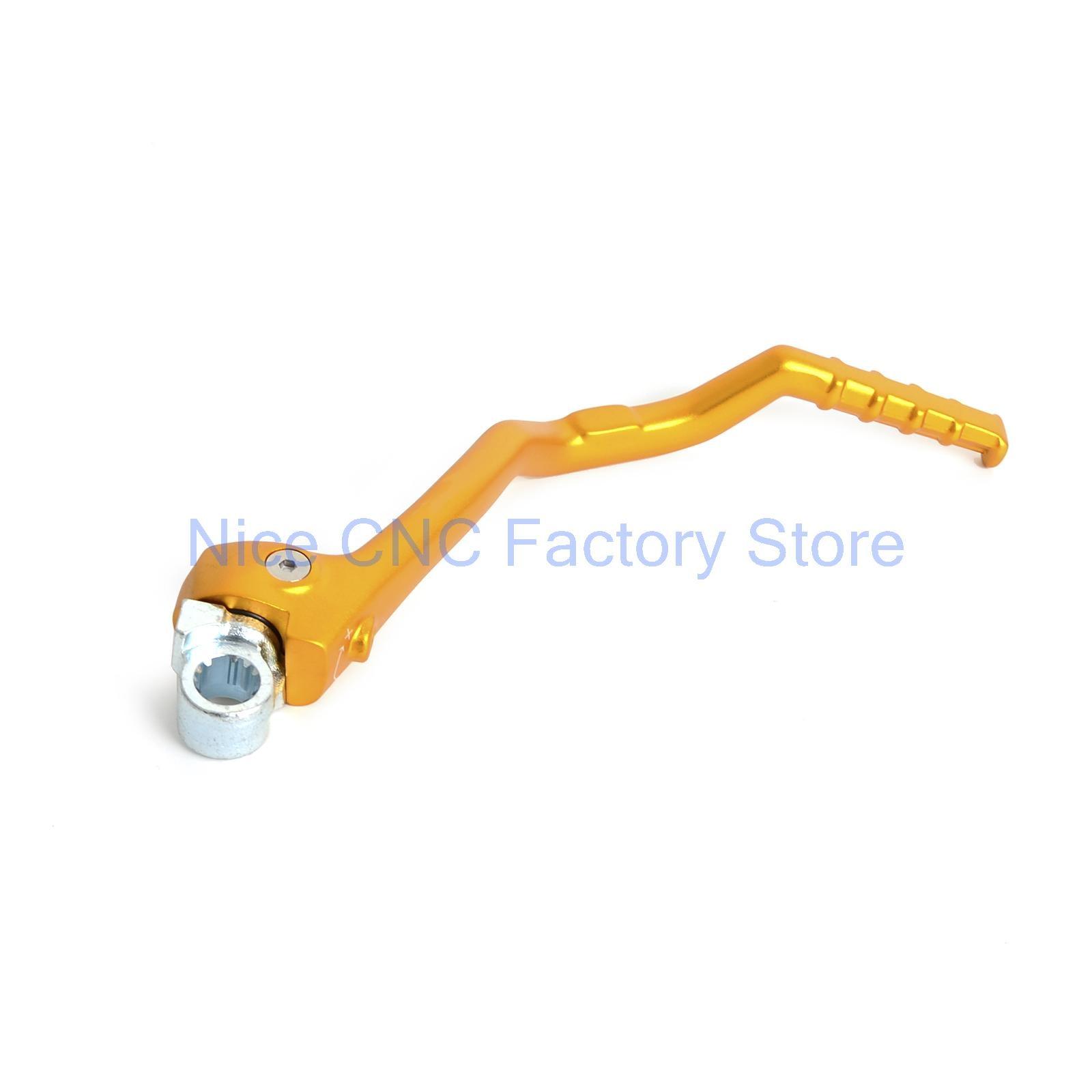 Anodized forged kick start lever for suzuki rmz250 2011 2015 2012 2013 2014 rm