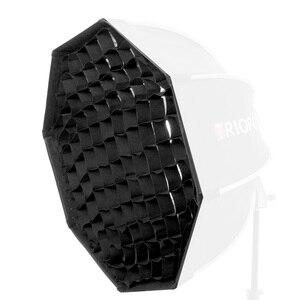 Image 3 - TRIOPO 55 سنتيمتر/65 سنتيمتر/90 سنتيمتر العسل شبكة ل TRIOPO طوي سوفتبوكس المثمن مظلة لينة صندوق التصوير استوديو الملحقات