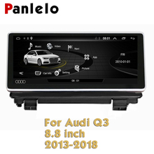 Panlelo For Audi Q3 Android 2013 - 2018 8 inch Car System Radio BT Wifi FM GPS Map Navi Navigation Screen Multimedia недорого