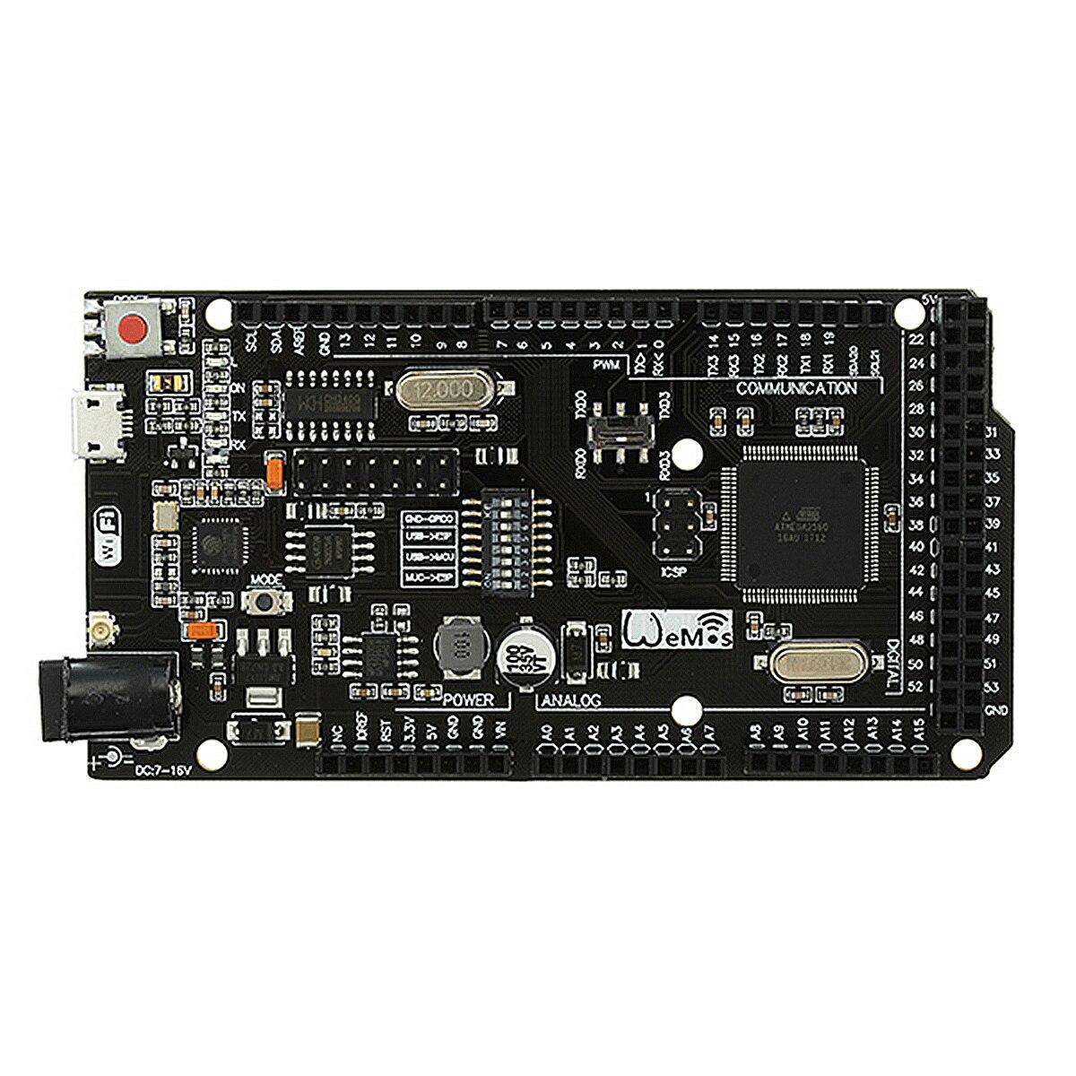 NEUE Mega + WiFi R3 ATmega2560 + ESP8266 32 mt Speicher USB-TTL CH340G Kompatibel Für Arduino Mega NodeMCU ESP8266