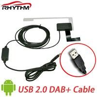 NEW Usb Dab Car Radio Antenna For Universal Car Radio Tuner Receiver DAB Usb Cable Digital