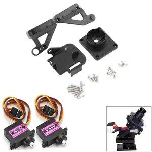 1pcs FPV Dedicated Nylon PTZ +2pcs 9G MG90S Metal Servo Motor for Arduino kit RC Model