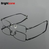 Free Shipping 100% Pure Titanium Full Rim Brand Eyeglasses Men Optical Spectacle Frame Eye Prescription Glasses Oculos De Grau