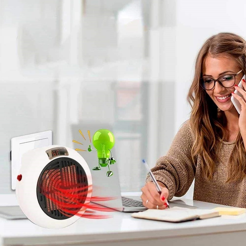 600W & 900W the Wall outlet Portable Heater Wonder Pro Warm Radiator Portable Home Machine Fast and Simple Heat Instantly