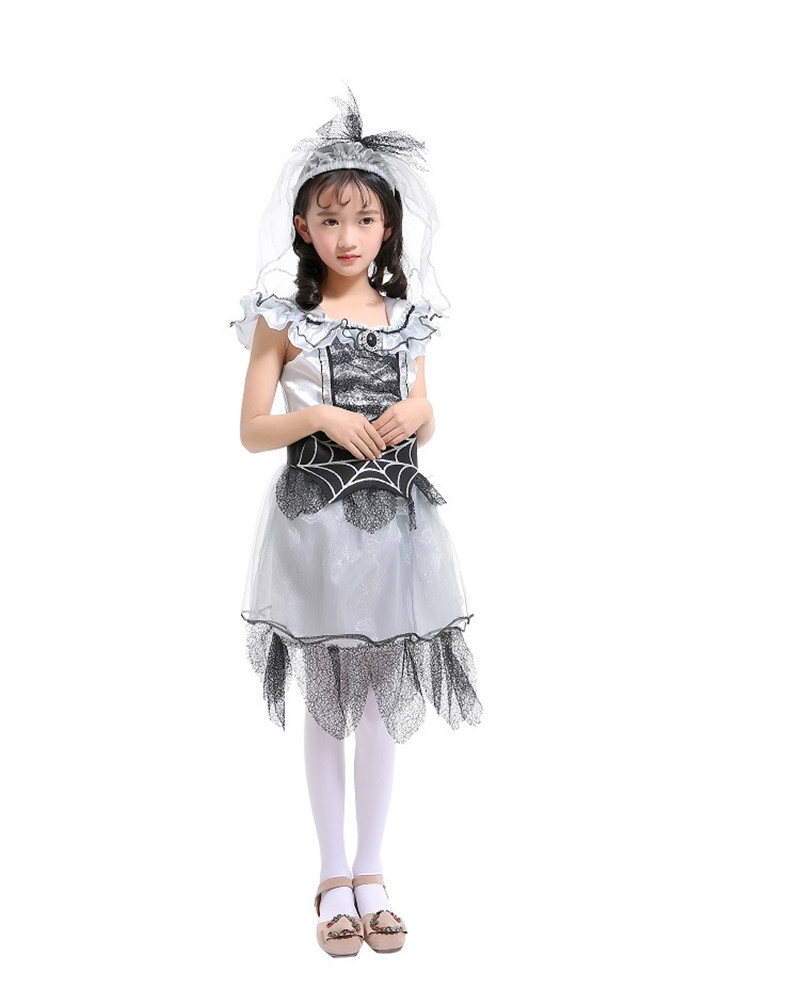 Deluxe Spider Princess Costume For Girls Halloween Carnival Party Kids Spider Performance Show Cosplay Costume Year-End Bargain Sale