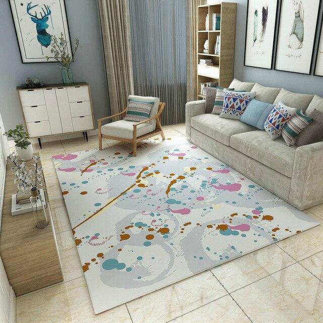 Tapis de style nordique moderne simple   Série nordique, tapis pour salon, Table basse, chambre à coucher, tapis de sol antidérapant, décoration de la maison, 200*300cm