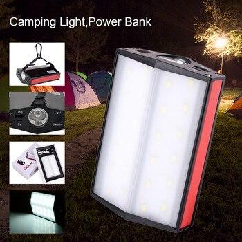 Cobrando Luz de Acampamento Portátil Carregador de Telefone Banco De Potência com Lanterna pode CSV