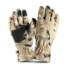 BING YUAN HAO XUAN Thermal Ski Gloves Winter Polar Waterproof Snowboard Snow
