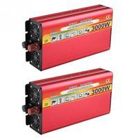 3000W LED Digital Display Power Inverter Modified Sine Wave for Car Home Converter