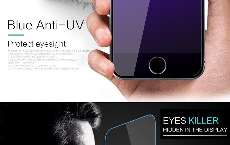 CHYI bez odcisków palców matowe szkło dla iphone 5s SE 5C ochraniacz ekranu oleofobowa powłoka 9 H dla iphone 7 8 plus xs Max XR szkło 32