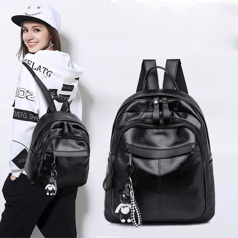 DEKAJIA Fashion Backpack School Backpack For Teenage Girl Earphone Backbag Student Waterproof Back Pack Notebook Backpack