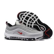 brand new 46300 a678b Original Nike Air Max 97 hombres de Zapatos de deporte al aire libre de la  absorción