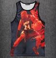 Nueva camiseta 3D de la NBA Kobe Bryant Rodaje Stringer Culturismo Hombres Camisa Chaleco Sin Mangas de Entrenamiento de Fitness NA-111