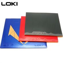 LOKI RXTON5 alta elasticidad Sticky tenis de mesa de goma Pips rojos en alta densidad esponja dura Goma de Pingpong para ataque/bucle