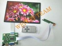 10.1 дюймов IPS Raspberry Pi монитор 1280x800 пикс цифровой ЖК-дисплей Экран дисплея HDMI VGA 2 AV банан Pi 100% тестирование Бесплатная доставка