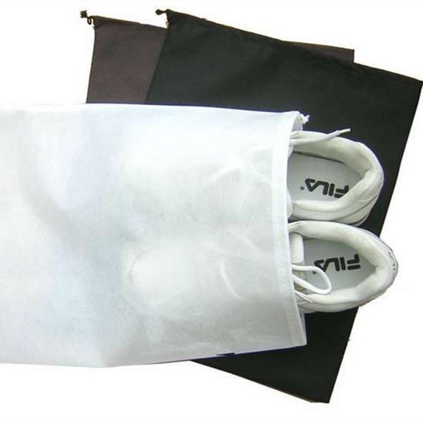 10 шт. оптовая хранения путешествия обувь мешок размер: 30*38 см завод прямых продаж