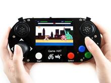 Waveshare Video Game Console for Raspberry Pi 3.5inch 480*320 IPS screen Acrylic material Supports Recalbox/Retropie pocket mini arcade game 2 inch hd ips lcd raspberry pi 3 32g card recalbox system it need booking and available in 20 days
