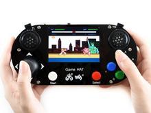 Waveshare vídeo game console para raspberry pi 3.5 polegada 480*320 ips tela material acrílico suporta recalbox/retropie