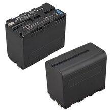 Cheaper 1Pcs 7.2V 7800mAh NP-F970 NP-F960 Digital Camera Battery for Sony NP-F960 NP-F970 Battery NP F970 NP F960 Batteria Bateria