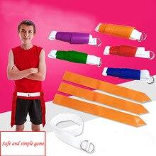 Набор ремней для футбола с флагом для футболистов-многоцветные флаги для логотипа команды-для взрослых и детей, для игры в футбол, для спортивных игр