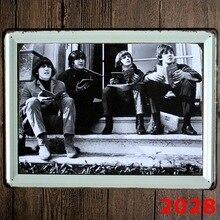 Die Beatles Neue große weißblech zeichen movie poster Kunst cafe Bar-weinlese-metall-malerei wandaufkleber steuern dekor 30X40 CM
