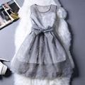 Летом Стиль Платье Кружева Бальные Платья свадебные платья Плюс Размер Рукавов Сексуальные Женщины Платья Bodycon 2016 Моды Случайные Старинные Платья