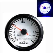 12 В в автомобиль Turbo Boost Gauge дюймов 2 мм дюймов 52 мм указатель метр 1~ 2 бар вакуумный пресс/vac измерительные приборы бензин автомобильный индикатор инструмент