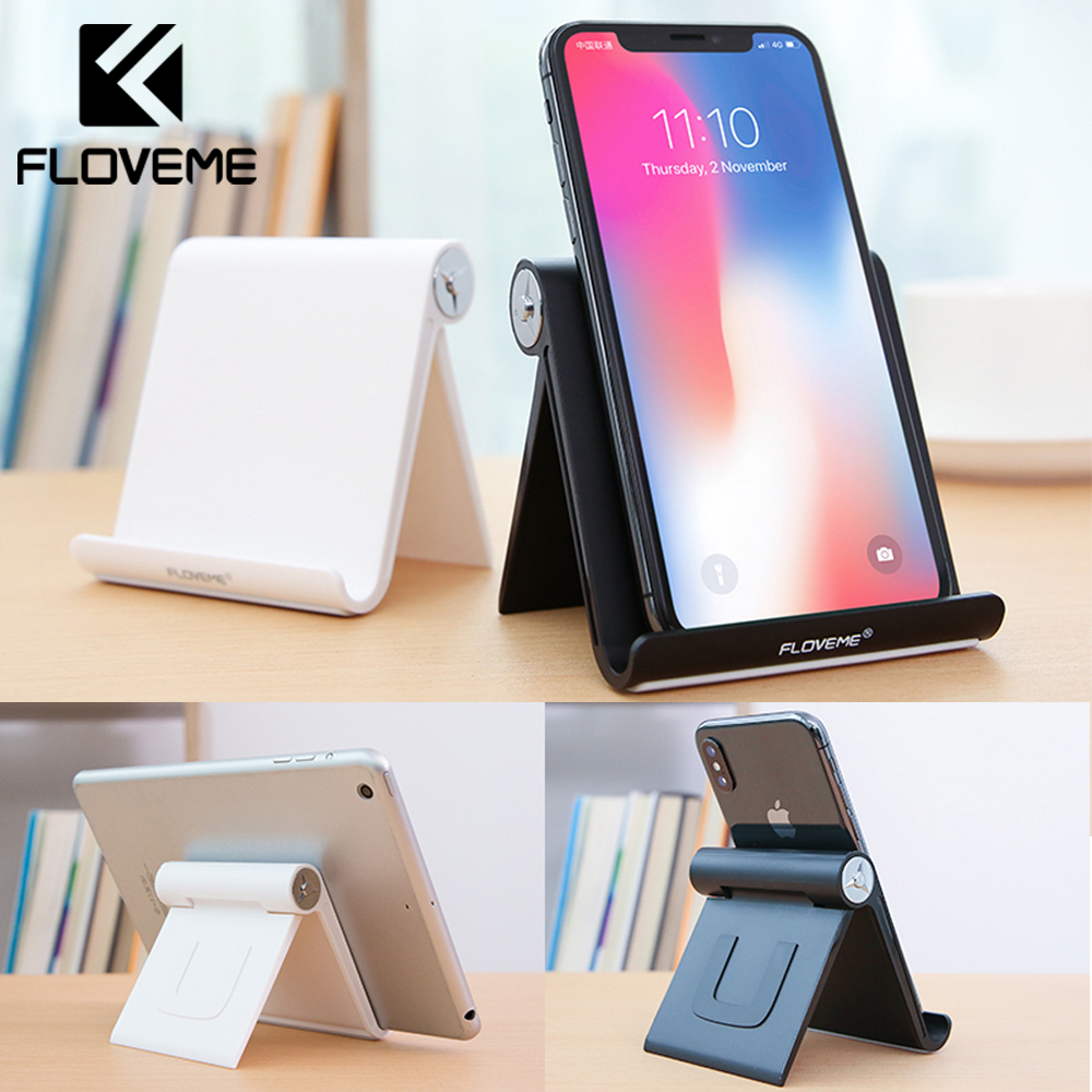 Phone Holder Stand For Iphone X Xs Foldable Mobile Phone Stand For Xiaomi Mi 9 Tablet Stand Desk Phone Holder For Samsung S10 S9 Mobile Phone Holders & Stands