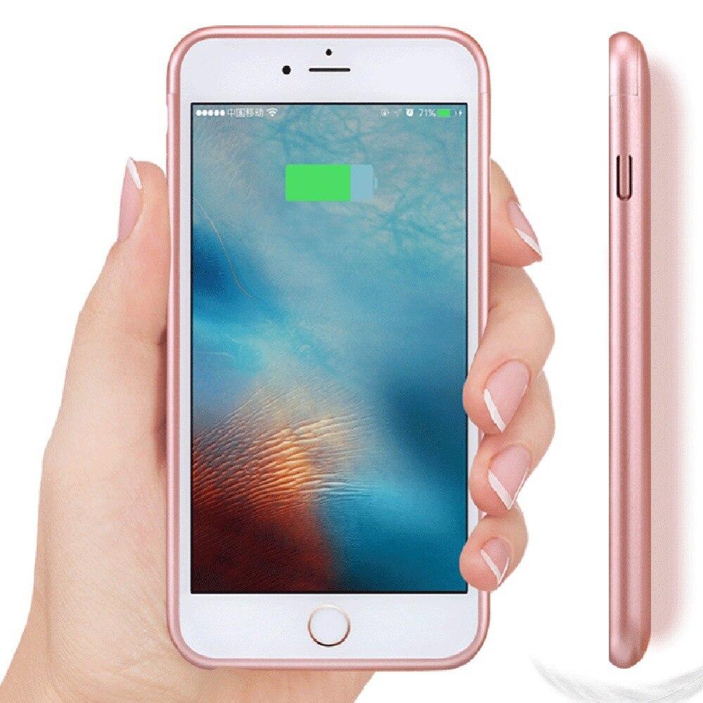 bilder für 3000 mAh Energienbank Fall Phone cases Externe Batterie-Backup Ladegerät fall für iphone 6 plus/6 s plus batterie fall cove