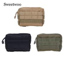 Tactical Molle Pouch Outdoor Bag Military Waist Pack Bag Small Pocket Military Running Pouch Travel Camping Bags tactical military fans molle pouch belt waist pack storage bag outdoor sports military storage bags