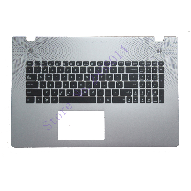 US Laptop Keyboard For ASUS N76 N76V N76S N76VM N56 N56V N56VM N56VZ N56SL With backlight English keyboard Palm rest laptop keyboard for asus ux51 ux51vz 9z n8bbu h01 with us version