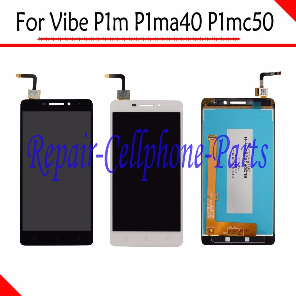 100% New Full LCD DIsplay + Touch Screen Digitizer Assembly For Lenovo Vibe P1m P1ma40 P1mc50 TD-LTE Free shipping100% New Full LCD DIsplay + Touch Screen Digitizer Assembly For Lenovo Vibe P1m P1ma40 P1mc50 TD-LTE Free shipping