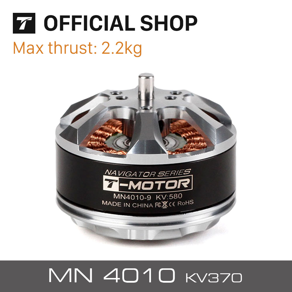 T-motor High quality Tiger motor MN4010 KV370 for UAV rc drones quadcopters hexacopter professional boats цена
