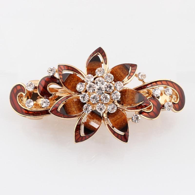 Beautiful Woman Hairpin Flower headwear epoxy Retail hair clips hair Accessories cheap price Free shipping