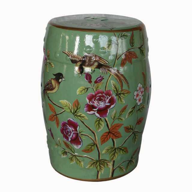 chinese jindezhen dressing table ceramic garden stool chinese ceramic drum stool bathroom chinese antique garden drum stool in stools ottomans from - Ceramic Garden Stool