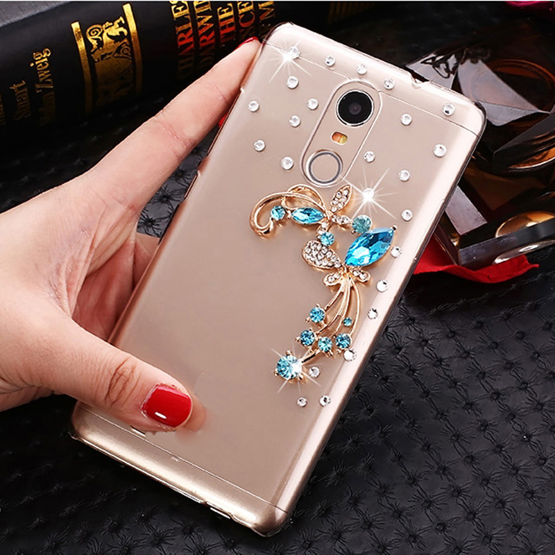 iSecret Case for Microsoft Nokia 6 2018 Nokia 8 Sirocco Cover Clear plastic Rhinestone Cover for Nokia 6 2018 6.1 8 Sirocco Case