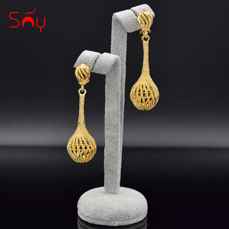 Sunny Jewelry Bohemia Jewelry Ball Earrings For Women Drop Dangle Earrings Luxury Wedding Earrings For Engagement Jewelry Gifts