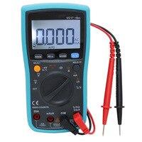 VC17 Handheld LCD Multimetro Digital Multimeter Backlight AC/DC Ammeter Voltmeter Ohm Tester Meter