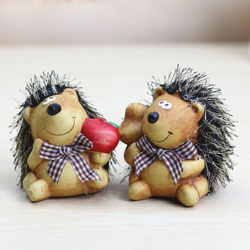 Cute Resin Hedgehog Money Box Piggy banks safe box Small Coin Box For Money Moneybox Savings Money For Children Free Shipping ...
