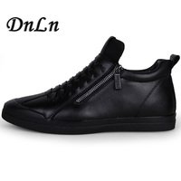 2018 High Quality Men Flats Shoes Breathable Fashion Men Casual Shoes Zapatos Hombre Mens Sneakers Black