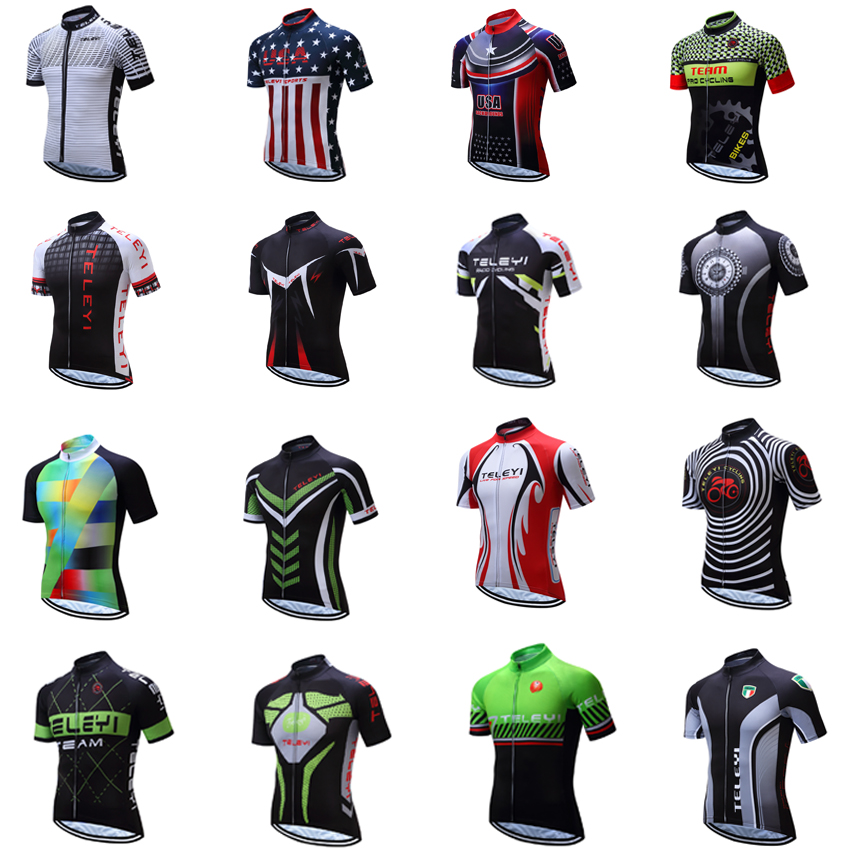 Hot Cycling Jersey Men 2018 Pro Team Mountain Bike Clothing Maillot Mtb Motocross Shirt Retro Bicycle Clothes Dress Funny Wear
