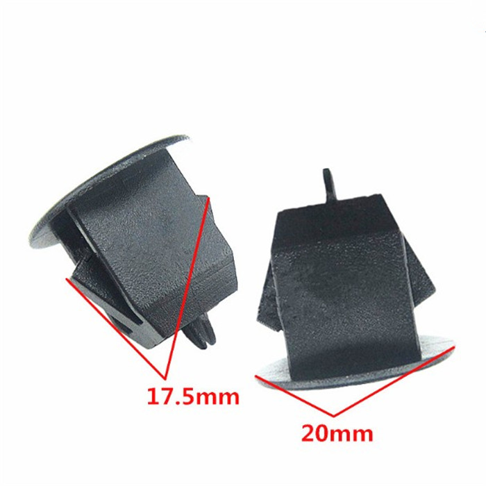 Mtsooning 25Pcs Trunk lining Original Clogging Clip Clamp for Volvo S80 S80L S60 S40 Plastic Fastener