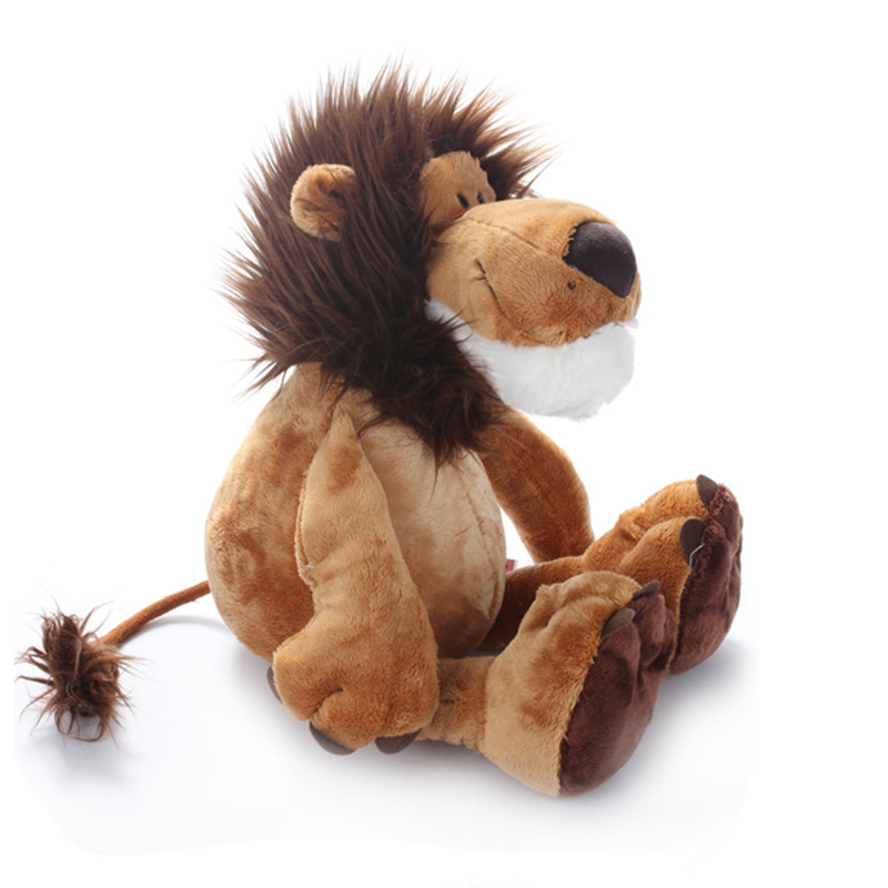 1pcs Forest animal doll simulation Sitting High 20cm Lion King Plush Toys Soft Stuffed Animals doll For Children Gifts Pillow benro smart 200 nylon waterproof backpack bag for dslr camera